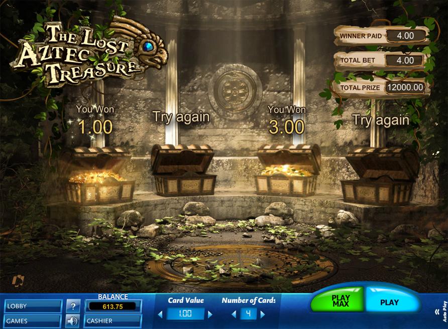 Lost treasures играть