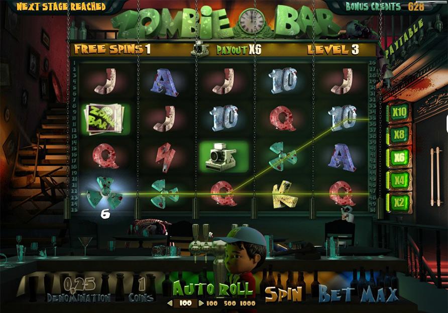 Zombie Bar Slots